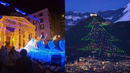 In viaggio tra le luminarie più belle d'Italia: da nord a sud esplode la magia del Natale