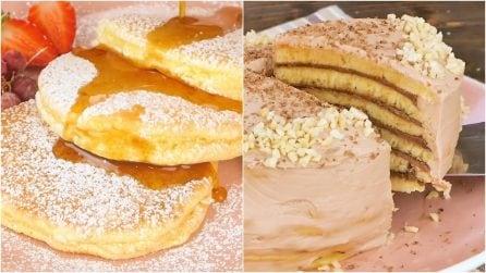 I pancakes non li avete mai preparati in questo modo!