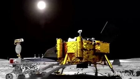 La sonda cinese Chang'e-4 ha raggiunto il lato nascosto della Luna: storico allunaggio