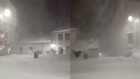 Maltempo in Italia: la fortissima tempesta di neve