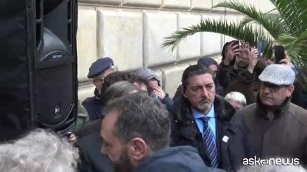 A Palermo sit-in di sostegno a Orlando contro decreto sicurezza