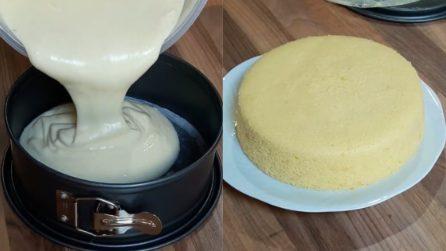 Sponge cake al limone: il dessert più soffice che abbiate mai assaggiato