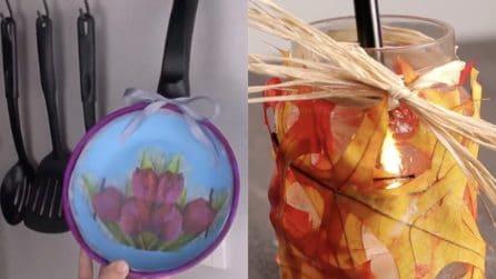 Riciclo creativo in cucina: ecco 4 fantastiche e originali idee