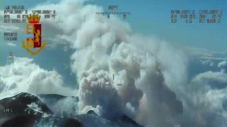 Terremoto Catania, le immagini dall'alto dell'Etna e delle zone colpite dal sisma