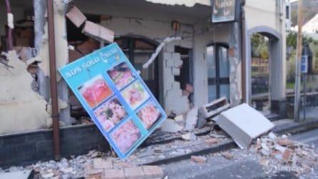 Terremoto Catania, crollate case e chiese: le immagini dalle zone più colpite