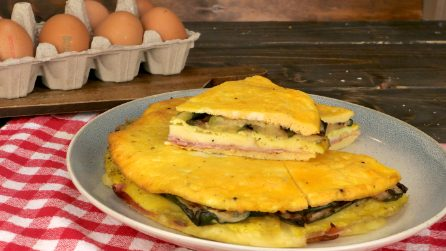 Baked omelet: here's how to make it fluffy and tasty!