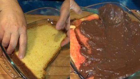 Pandoro alla zuppa inglese: un dolce da preparare con gli avanzi del pandoro