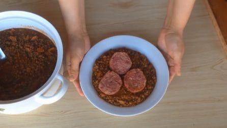 Cotechino con le lenticchie: la ricetta semplice e saporita