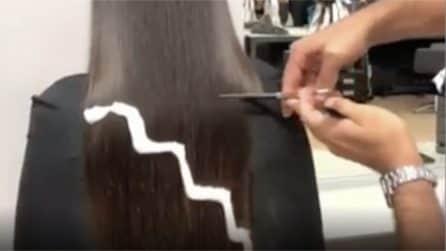 Vuole rivoluzionare il suo look: l'hair stylist si mette all'opera