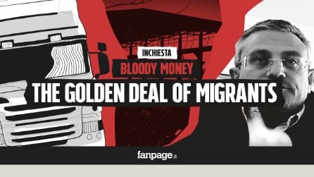 "Bloody Money 7 - The business of human beings: ""Migrants are gold, who controls it? Only the citizens"""
