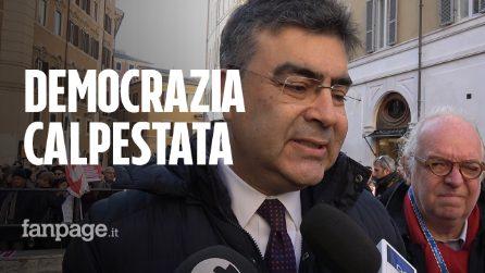 """Fiano (PD): """"La violenza non è mai giustificata ma stanno calpestando i nostri diritti"""""""