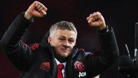 I tifosi dello United cantano per Solskjaer: il coro per il nuovo allenatore