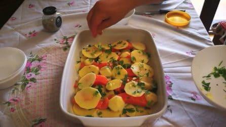 Salmone con patate al forno: la ricetta semplice e saporita