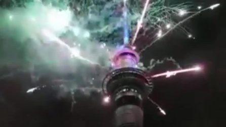 Australia e Nuova Zelanda salutano il nuovo anno: fuochi d'artificio per il 2019