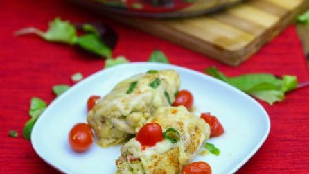 Involtini di pollo e pesto: un modo gustoso per cucinare la carne!