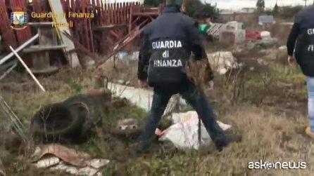 Discarica abusiva a Napoli: 20 tonnellate di rifiuti speciali