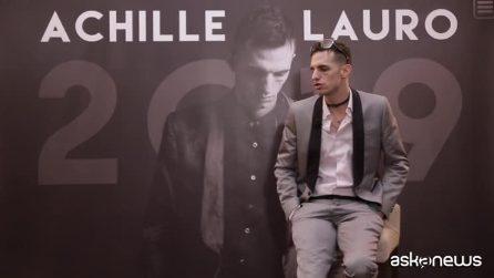 """Achille Lauro: """"Il Festival di Sanremo? Un'occasione incredibile di fare musica senza compromessi"""""""