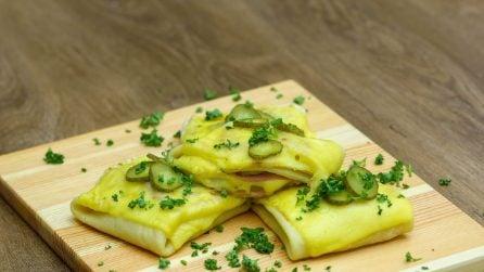 Fagottini di crepes salate: una ricetta così non l'avete mai provata!