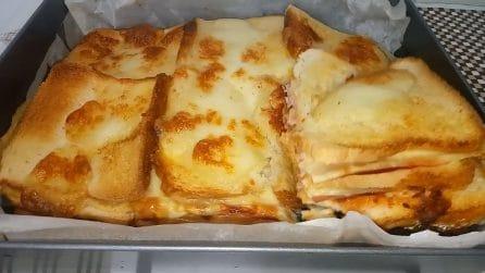Lasagne di pancarrè: il piatto squisito pronto in pochi minuti