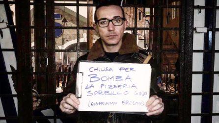 """Napoli, bomba distrugge la pizzeria di Gino Sorbillo: """"Ricominceremo con la stessa forza di sempre"""""""