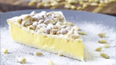 Torta Della Nonna Senza Cottura La Versione Fredda Del Goloso Dessert
