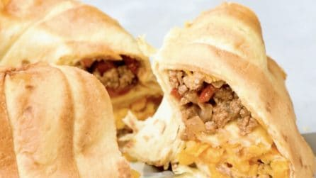 Ciambella di piadine: una ricetta veloce e sfiziosa!