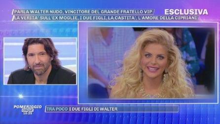 """Pomeriggio Cinque, Walter Nudo: """"Non voglio illudere Francesca Cipriani"""""""
