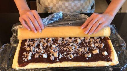 Rotolo al cioccolato super goloso: ecco la ricetta semplice