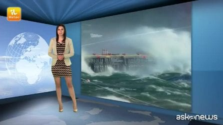 Previsioni meteo per venerdì, 11 gennaio
