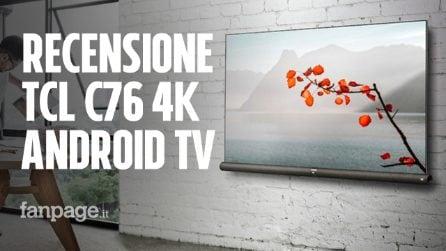 Recensione TCL C76: a questo prezzo non si può avere una TV 4K più completa