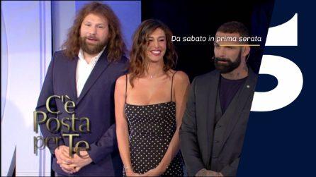 C'è posta per te 2019: ospiti della prima puntata Belén, Martín Castrogiovanni, Sakara, Ricky Martin