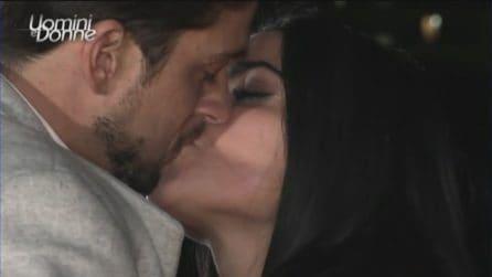 Uomini e Donne, scatta il bacio tra Andrea Dal Corso e Teresa Langella