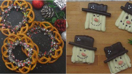 3 decorazioni simpatiche e golose con i pretzel!