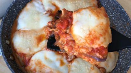 Parmigiana cotta in padella: il metodo veloce per prepararla