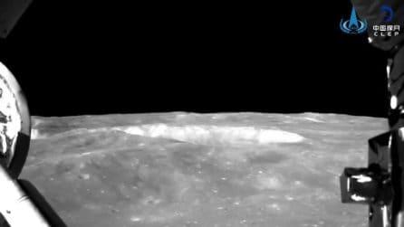 Lo spettacolare atterraggio di Chang'e-4 sul lato 'oscuro' della Luna