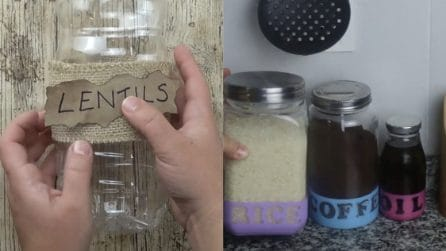 Idee di riciclo: realizzerete bellissimi oggetti per la vostra cucina