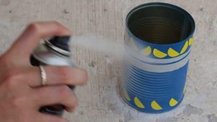 Come riciclare i barattoli di latta: l'idea creativa per le tue piantine