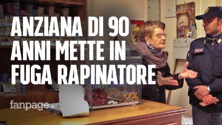 Caserta, anziana di 90 anni mette in fuga un rapinatore armato