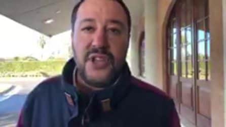 """Cesare Battisti atterrato in Italia, il commento di Salvini: """"Ora marcirà in galera"""""""