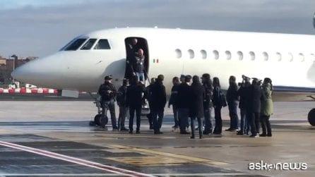 Cesare Battisti è arrivato in Italia