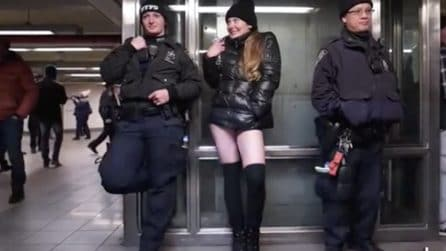 No Pants Day, la giornata in metro senza pantaloni