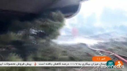 Iran, aereo cargo si schianta in atterraggio vicino a Teheran