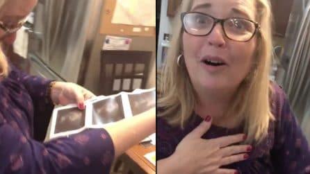 Comunica alla mamma la bellissima notizia: la reazione è emozionante