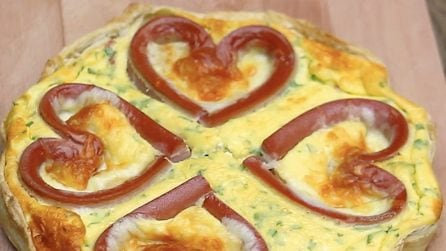 Quiche deliziosa ai würstel: la ricetta buona e originale!