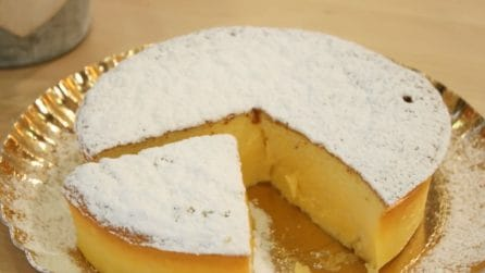 Cotton cheesecake con 3 ingredienti: soffice e pronta in pochi minuti