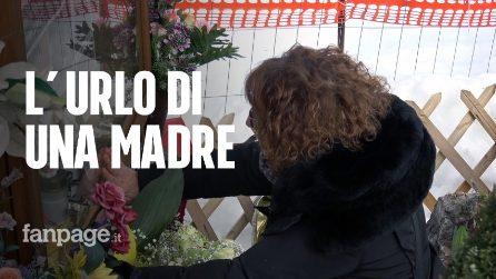 """Rigopiano, l'urlo della mamma di Stefano Feniello: """"Ora mandate fiori, serviva spazzaneve"""""""
