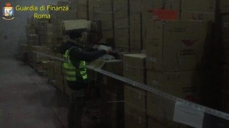 Anagni, oltre 140mila scarpe Nike contraffatte e pronte ad essere vendute sul mercato nero