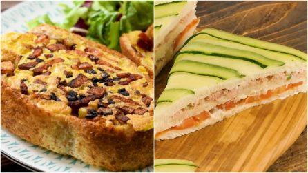 3 idee per uno snack o una cenetta veloce