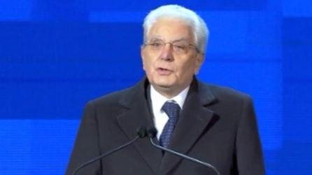 """""""Matera città simbolo del Mezzogiorno"""": le parole del presidente Mattarella"""