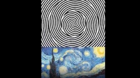 L'illusione ottica è da non credere: il quadro si trasforma
